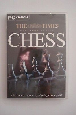 + The Times Chess Software [Pc Cd-Rom] New Sealed [Aussie Seller]