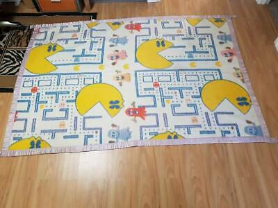 Original 1980s Invicta PACMAN blanket collectable Starting at only $15-