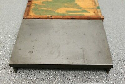 "10"" x 7"" cast iron surface plate"