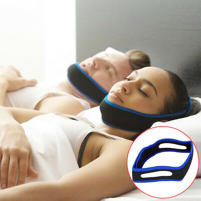 Anti Snoring Chin Strap Stop Stuttering Apnea Chin Jaw Supporter Belt Face-lift