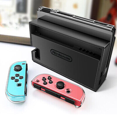For Nintendo Switch Transparent Clear Protective Shockproof Hard Case Cover AU