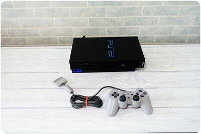 Sony PlayStation 2 PS2 Home Video Game Console, Model: SCPH-30003 - Black