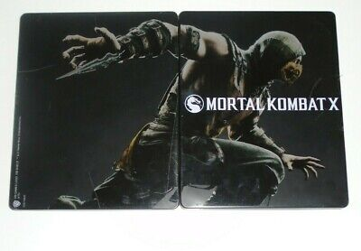 Mortal Kombat X (Steelbook Only) - Kollector's Edition - Xbox One / PS4