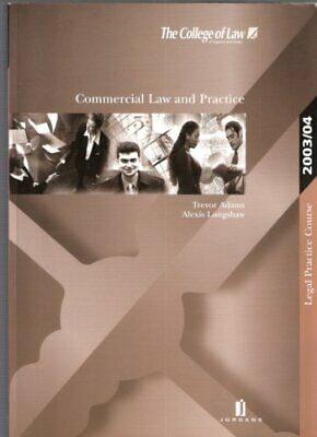 Commercial Law and Practice (LPC Resource Manuals) By T. Adams,Alex Longshaw