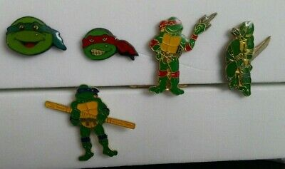 Lot de 5 pin's Tortue Ninja