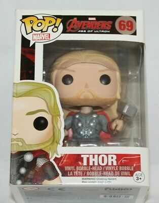 Funko Pop Vinyl Thor Avengers Age of Ultron Bobble Head #69