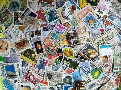 300 Grams Of World Stamps off paper -Great Mixture.- 99% No GB