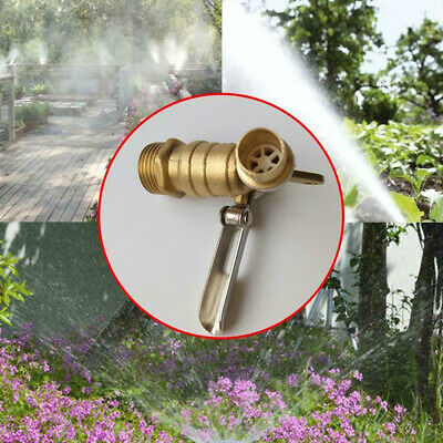 DN15 Brass Lockable Water Tap Tools Single Hole Thread Garden Home Cooling