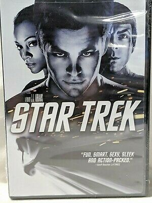 Star Trek (2009 film) by J.J. Abrams(NEW in Plastic) DVD widescreen