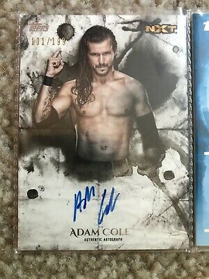 WWE Topps 2018 Undisputed Auto Adam Cole