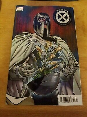 HOUSE OF X #5 of 6 (Marvel Comics 2019) Powers Sara Pichelli Flower Variant