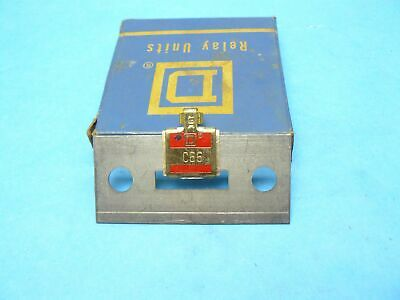Square D C66 Thermal Overload Relay Heater Element New