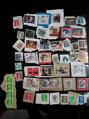 Small selection of British fine used stamps
