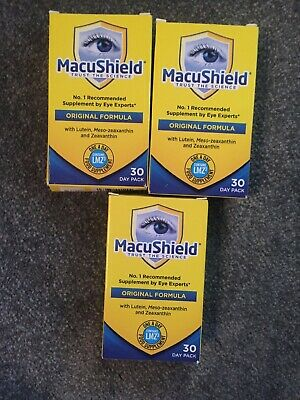 MacuShield Capsules - 3 Packs 30 Capsules