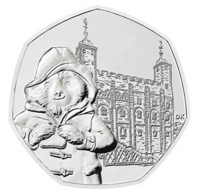 Paddington Bear at Tower Of London 50p Coin New 2019 (From Sealed Bag)  MINT
