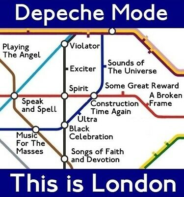 Last One ! -  Depeche Mode - This Is London - 12 Track Remix CD