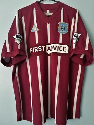 Manchester City Classic GOATER 10 2002/3 Away Shirt Adult Large
