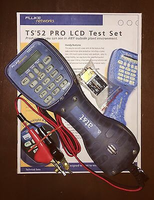 Fluke Networks TS52 PRO Test Butt Set - FREE SHIPPING!!