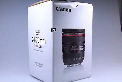 CANON EF 24-70mm f/4L IS USM Lens **NEW**