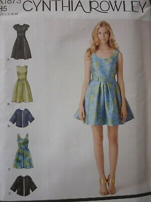 New Simplicity Easy Dress & Jacket Sewing Dressmaking Pattern