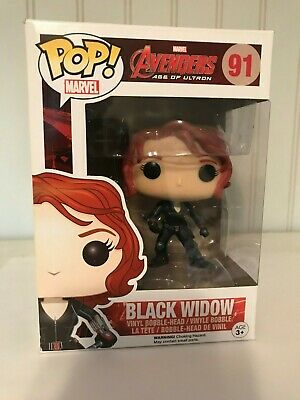 Funko POP Vinyl Figure Marvel Avengers Age of Ultron Black Widow # 91