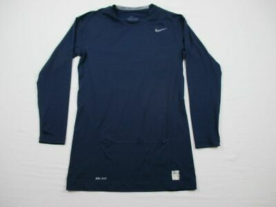 NEW Nike - Men'sBlue Compression  Long Sleeve Shirt (Multiple Sizes)