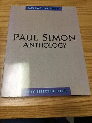 Paul Simon Anthology Fifty Selected Titles