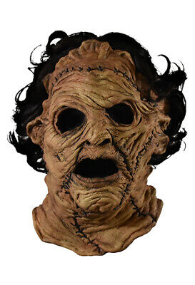 Authentic THE TEXAS CHAINSAW MASSACRE 3D Leatherface Mask NEW