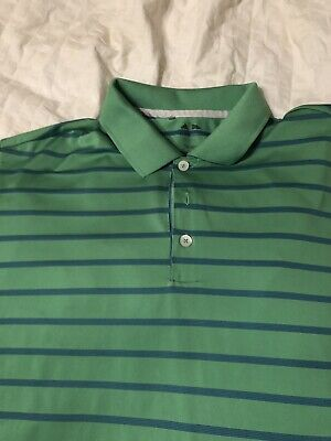 2 ADIDAS Mens Dri Wick GOLF Polo Sport Shirts green and Blue