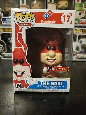 Funko Pop! Ad Icons Domino's The Noid #17 Target Exclusive WITH PROTECTOR!
