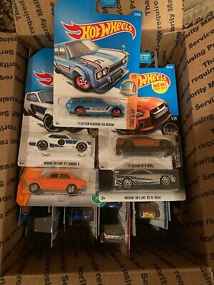 2019 Hot Wheels Super Lot 71 Datsun Bluebird 510 WagAnd Many More. 30 Cars Total