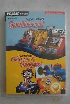 + Spellbound + Gizmos & Gadgets [2 Pc Educational Cd-Roms] Win/Mac [New]
