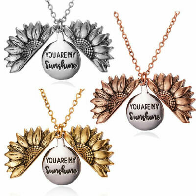 """New  Limited Release: """"You Are My Sunshine"""" Sunflower Necklace Hot!!!  Au"""