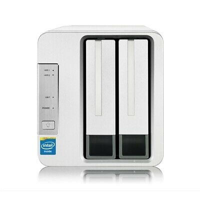 TerraMaster F2-220 2-Bay NAS for Small Business and Personal Cloud Storage