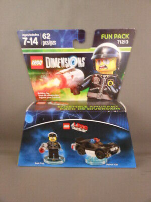 LEGO DIMENSIONS Movie 71213 Bad Cop W// Gun MINIFIGURE Only NEW D43