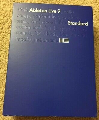 Ableton Live 9 Standard (Serial Number Never Redeemed - Excellent Condition)