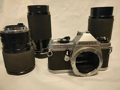 Pentax MG And Lenses X3