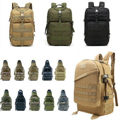 3P Tactical Military Backpack Oxford Sport Bag 55L for Camping Traveling Hiking