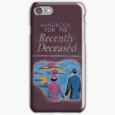Handbook for The Recently Deceased iPhone Case X R 8 7 S 6 11 Pro Plus Max