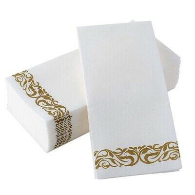 Disposable Hand Towels Soft And Absorbent Linen Decorative Kitchen Party Napkins