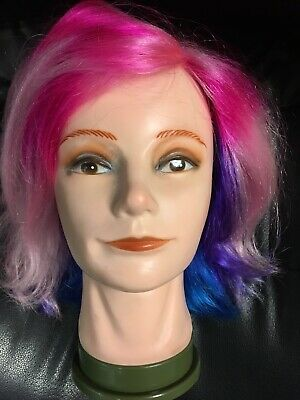 Maniquin Head with Hair Manniquin Wig Styling for Women Natural