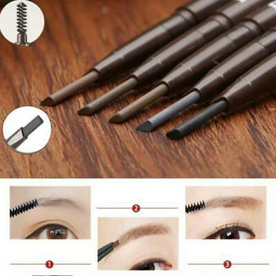 HANDAIYAN 2 in 1 Waterproof Eye Brow Eyeliner Eyebrow Pen Pencil With Brush