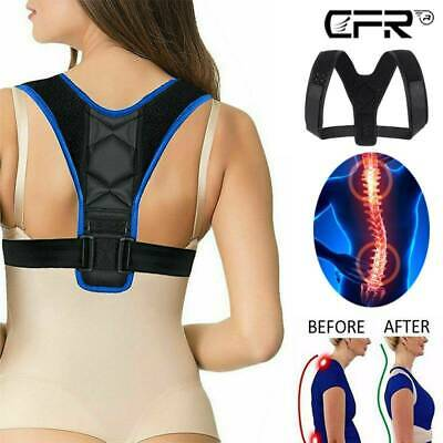 Adjustable Posture Corrector Therapy Clavicle Back Support Brace Belt Men Women