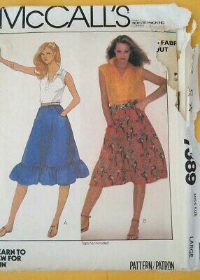 Vintage Patterns McCall's 7389