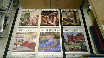 The Ideal Home & Gardening Magazine: Complete 12 Issue Set: Jan-Dec 1942