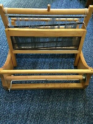 "Lily Mills 2 Harness Table Loom, Vintage,14.5"" reed"
