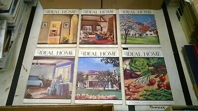 The Ideal Home & Gardening Magazine: Complete 12 Issue Set: Jan-Dec 1941