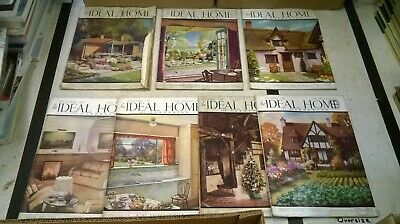 The Ideal Home & Gardening Magazine: 7 Issues: June-Dec 1940
