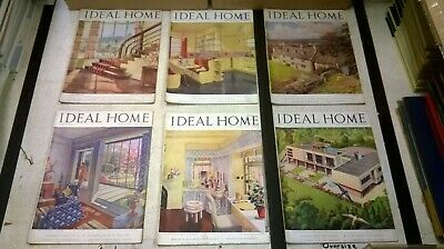 The Ideal Home & Gardening Magazine: Complete 12 Issue Set: Jan-Dec 1946