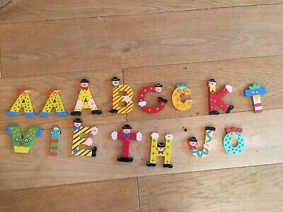 Childrens Bedroom Letters - Clowns & Animals